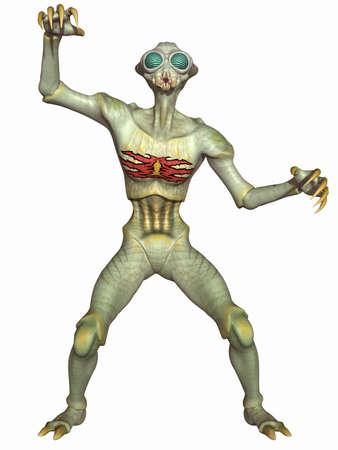 fantasy alien: Insectoid - Fantasy Alien Figure