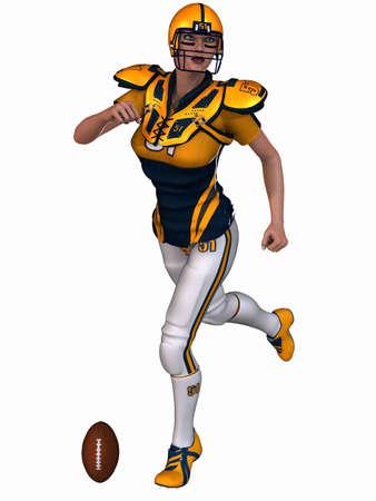 Sexy Football Player