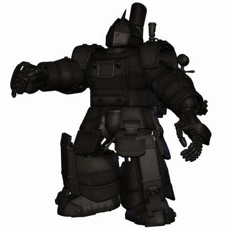mech: Robot Stock Photo