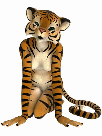 Toon Figure - Tiger photo