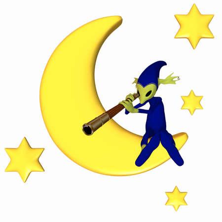 astronomer: Toon Figure - Little Astronomer