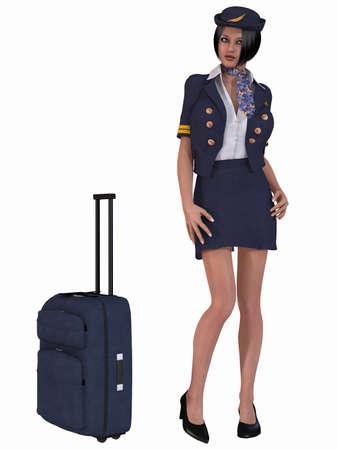 flight crew: Flight Attendant