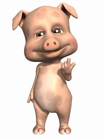 toons: Cute Pet - Pig