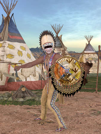 tomahawk: Native American Indian - Cheyenne