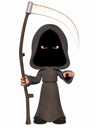 rn3d: Cartoon Grim Reaper