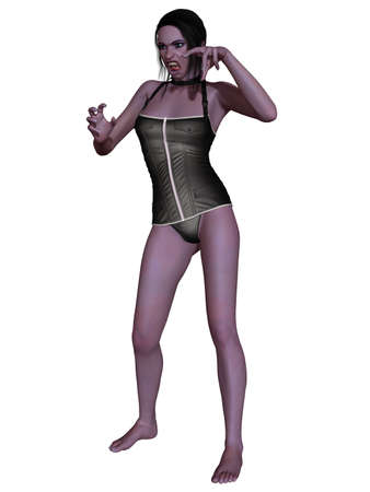 Female Vampire - 3D Figure photo