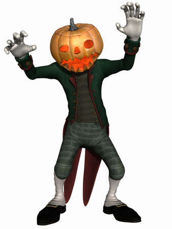 hallows': Mister Pumpkin - Halloween Toon Figure