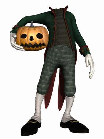 harmonous: Mister Pumpkin - Halloween Toon Figure
