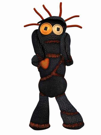 harmonous: Voodoo Doll Stock Photo