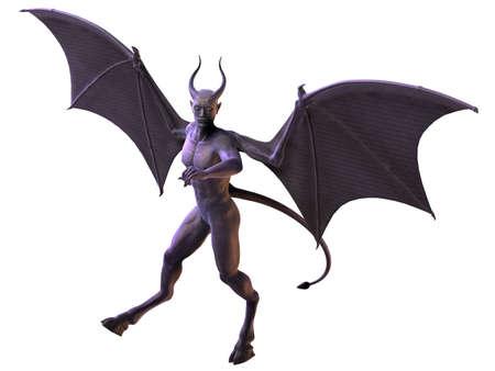 Devil - Horror Figure Stock Photo - 7769574
