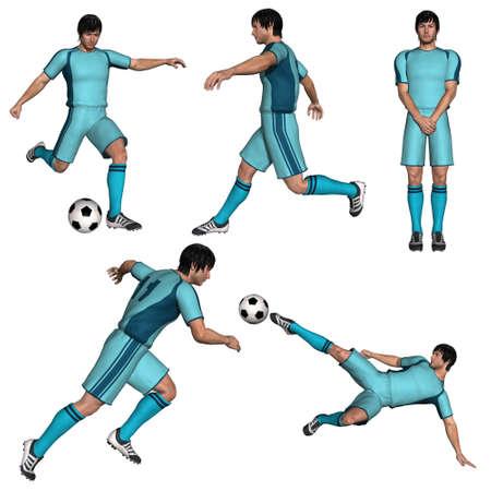 Football player Stock Photo - 7769625
