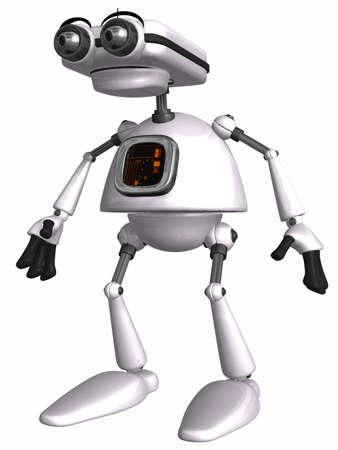crouch: Toon Robot
