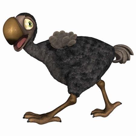 dodo: Toon Dodo Stock Photo