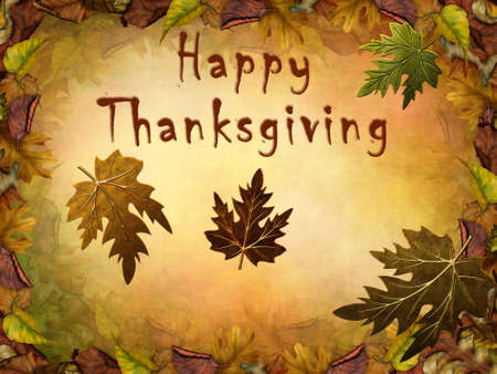 Happy Thanksgiving Banque d'images