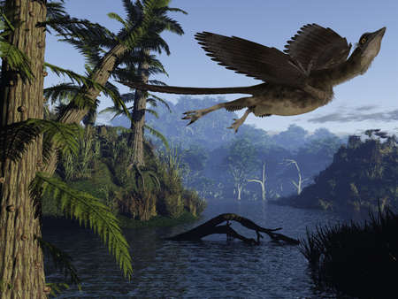 periods: Archaeopteryx - 3D Dinosaur