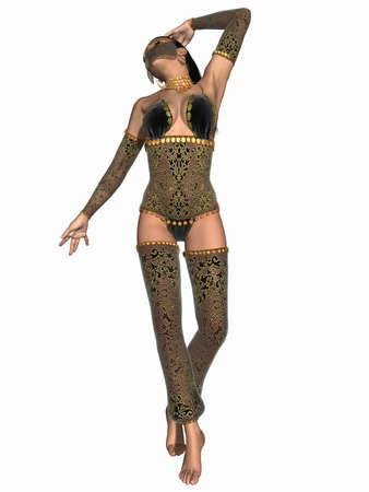 Sexy Oriental Dancer