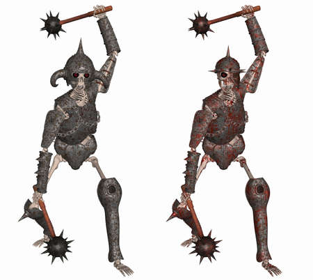 Skeleton Warrior Stock Photo - 8716757