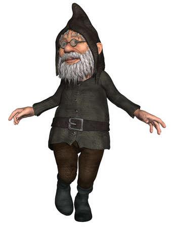 dwarf: Figura de fantas�a  Foto de archivo