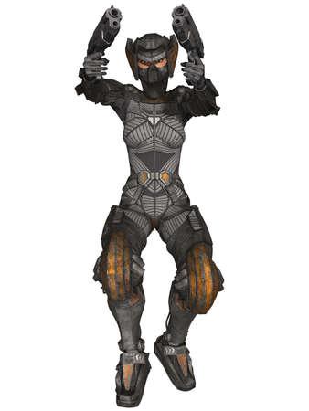 major battle: Futuristic Battle Suit