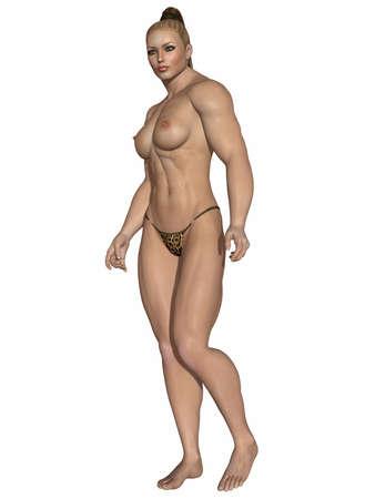 Sexy Strong Women Stock Photo - 9123515