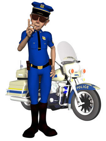 constable: Toon Police Officer