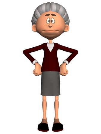 poser: Toon Figure Grandma
