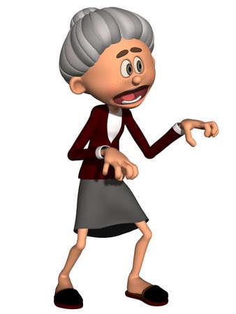 Toon Figure Grandma photo