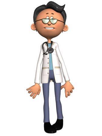 cartoon medical: Toon Figure - Medical
