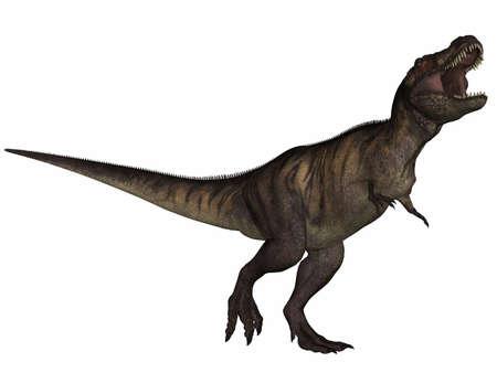 caudal: Tyrannosaurus Rex- 3D Dinosaur