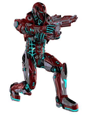 stealth: Futuristic soldier