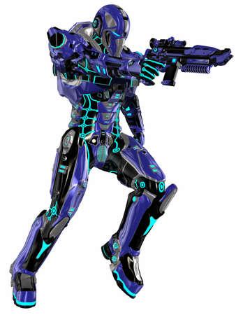 Futuristic soldier Stock Photo - 9554967