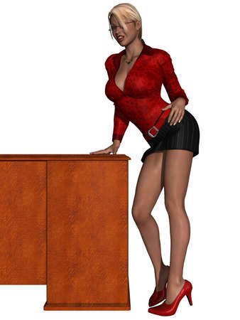 Sexy Secretary Stock Photo - 9555024