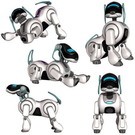 Perro robot Foto de archivo - 9559210