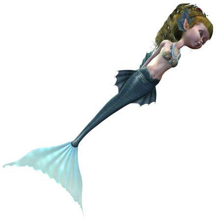 Fantasie-Mermaid