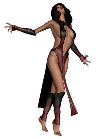 Sexy Fantasy Priestess photo