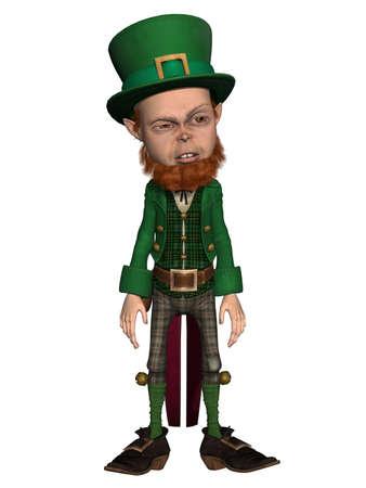 irish leprechaun Stock Photo - 9865674