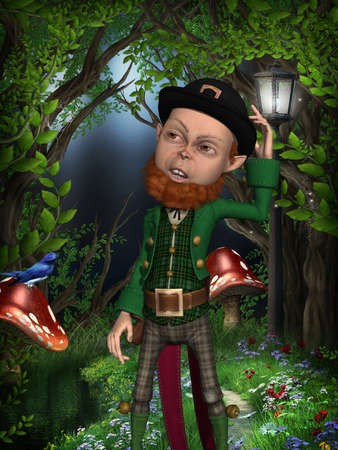 irish leprechaun Stock Photo - 9865683