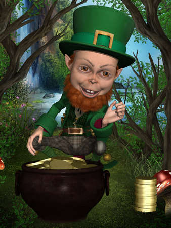 irish leprechaun photo
