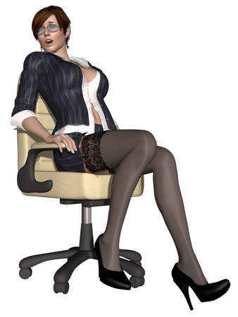Hot sexy teacher Zdjęcie Seryjne