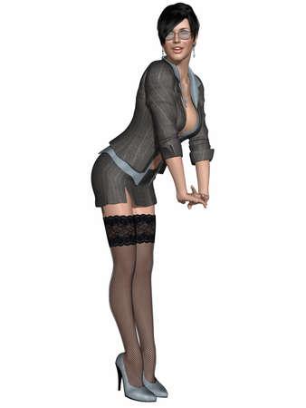 Hot sexy teacher photo
