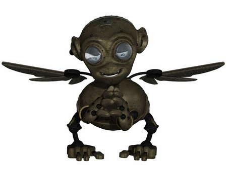 crouch: Fantasy Robot
