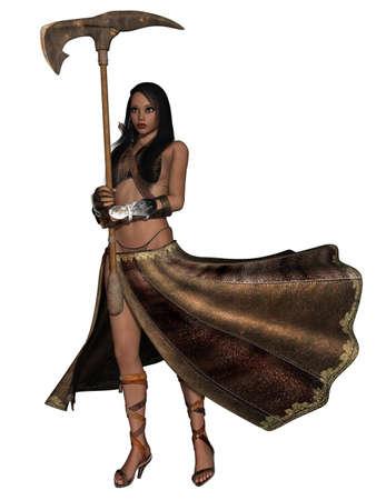 Fantasy Action Figure Stock Photo - 10229414