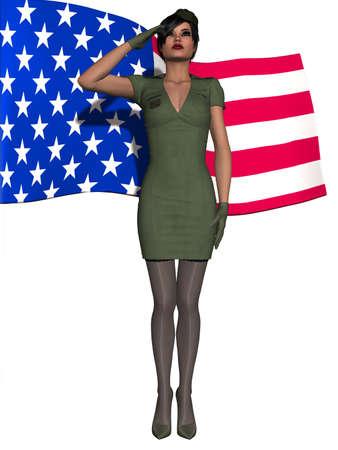 coy: Military Girl
