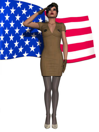 military girl: Military Girl