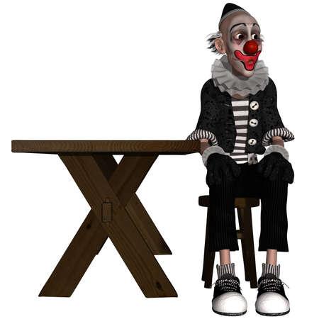 Comic Clown Stock Photo - 10354042