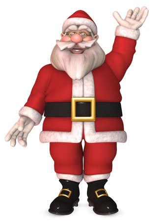 Toon Santa Claus photo