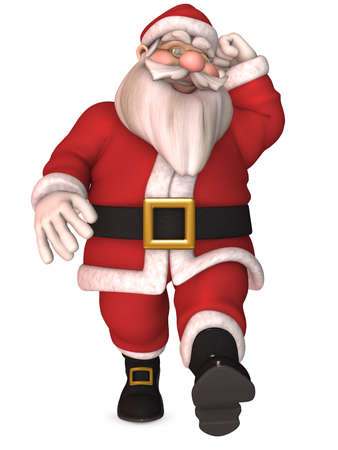 clause: Toon Santa Claus