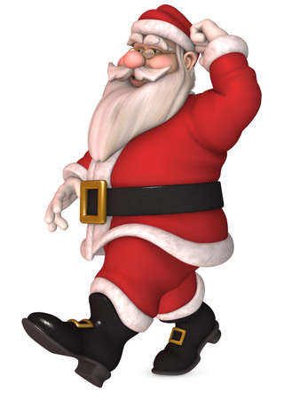 Toon Santa Claus photo