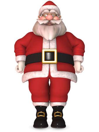 cartoon santa clause: Toon Santa Claus