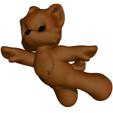 Cute Wolf - Toon Figure Stock Photo - 12270680
